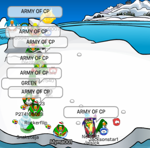yay army of cp