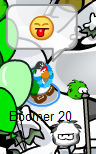 puffle-gets-a-face-full-of-snow