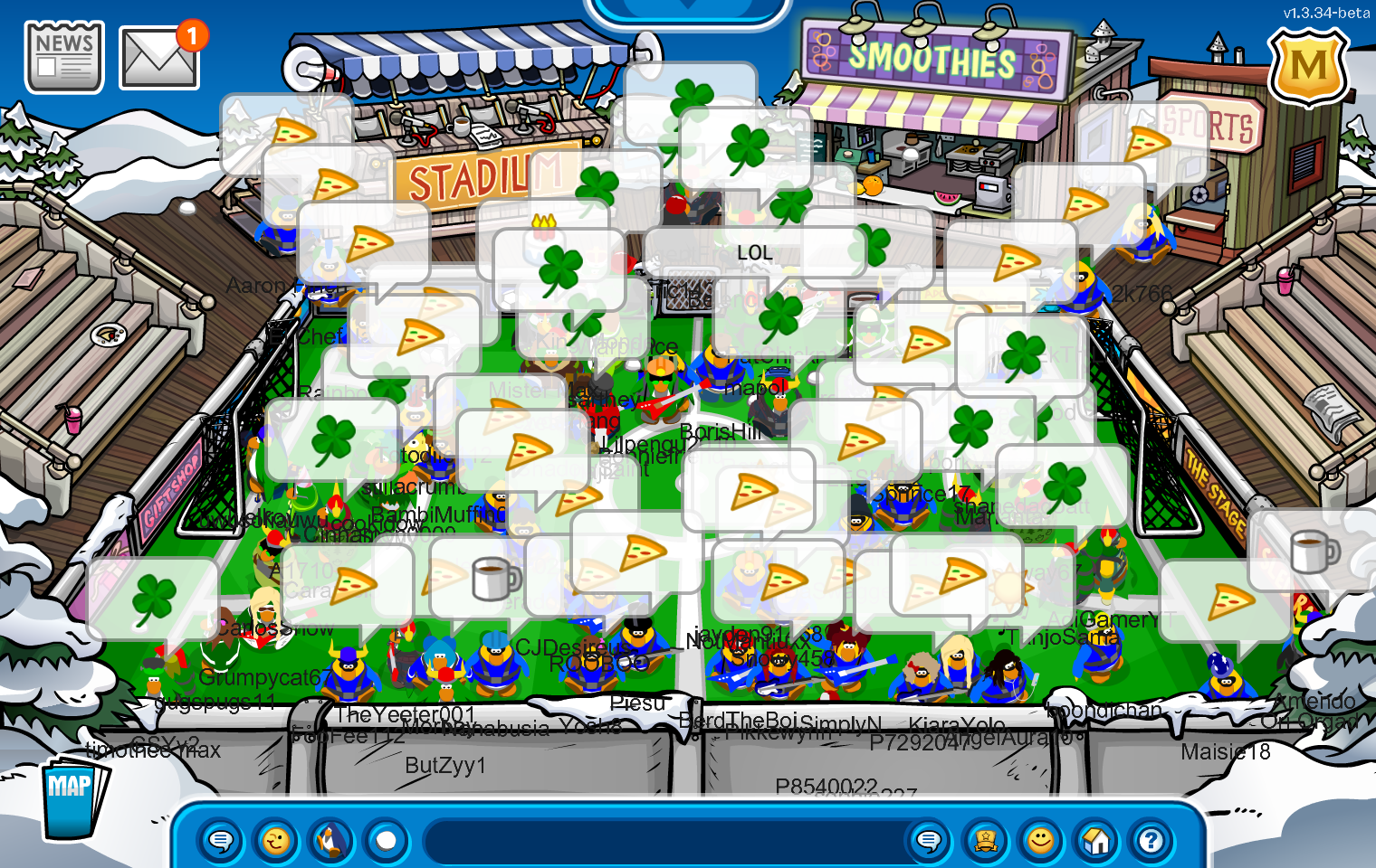 Battle Review: Army of CP vs. Help Force   Army of Club Penguin