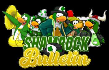 Shamrock Bulletin Logo